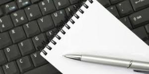 Ecrire sur internet